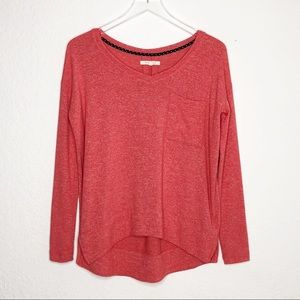 Pure + Good | Cropped High Low Sweater Size XS